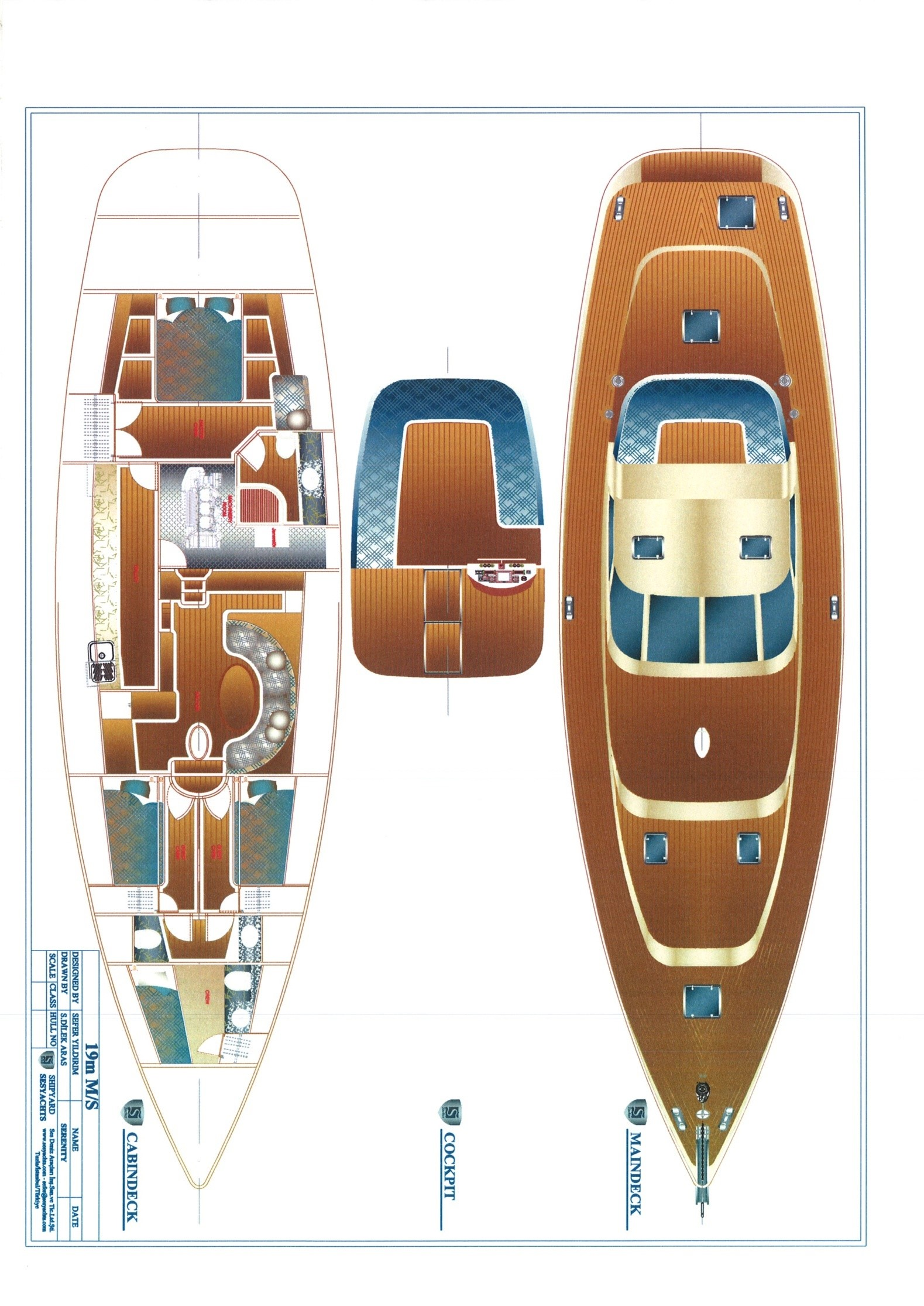 Яхта Sail sloop SES 63 - фото 14 из 29